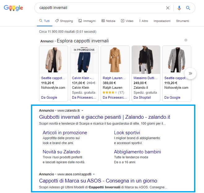 Esempi di Annuncio di Testo Google Ads